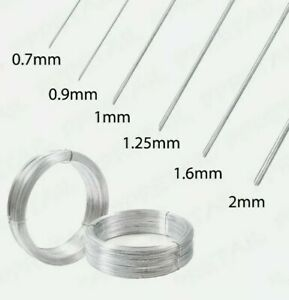 HEAVY DUTY GALVANISED GARDEN WIRE METAL FENCING WIRE OUTDOOR  VARIOUS LENGTHS NW