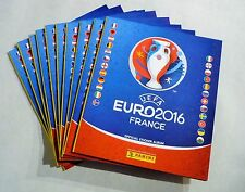 Panini ALBUM EURO 2016 -- 10 x Leeralbum - France EM 2016 Leeralben Deutsch