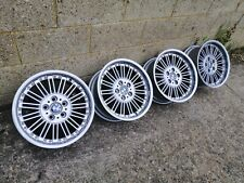 "Super Rare Genuine BMW Style 86 17"" Dished Split Rims E39 E36 E34 M3  5x120 PCD"