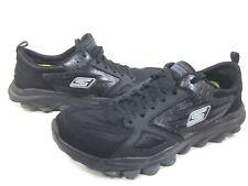 SKECHERS PERFORMANCE MENS GO TRAIN RUNNING SHOES,53503/BBK,BLACK,US SIZE 11 M