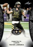 Trevor Lawrence 2018 Leaf US Army Rookie Cards ONLY TRUE LICENSED CARD-CLEMSON