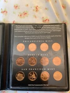 2009 penny commemorative coin set