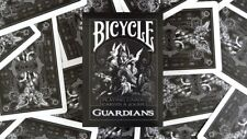 Deck Bicycle Guardians Playing Cards by Theory11 Black Magic Cardistry