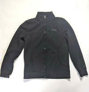 La GEAR black fleece with pockets zip up comfy top Girls ladies size 8/10  ~L23