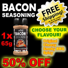 Bacon Seasoning 1 Bottle ~ CHOOSE FLAVOUR ~ Deliciou ~ 50% OFF BBQ EASTER SALE!!