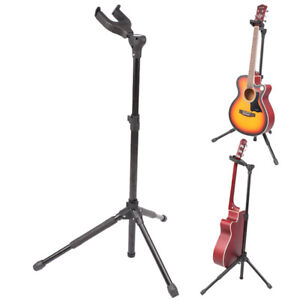 Bass Guitar Stand - Auto Clamp - Folding