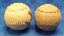 Lot of 2 clincher and windy city 16 inch softballs