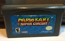 Mario Kart Super Circuit Nintendo Game Boy Advance Game GBA Authentic