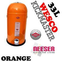 Wesco Kickmaster Soft 33l orange Treteimer Mülleimer