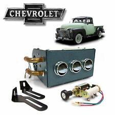 1935-59 Chevy Truck 3-Port Under Dash Cab Heater Box AK-Series l-head GMC CK 350