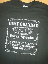 BEST GRANDAD T-SHIRT all sizes and colours BRAND NEW BIRTHDAY CHRISTMAS GIFT