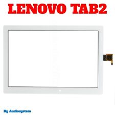 VETRO+ TOUCH SCREEN per LENOVO YOGA TAB 2 A10-30 TB2-X30L BIANCO DISPLAY TABLET