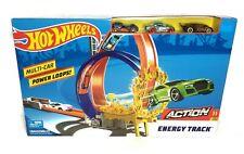 NEW Mattel Hot Wheels Multi Car Power Loops Action Energy Track