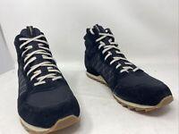 Merrell Mens Alpine Mid Hiking Boot Black Size 14M US
