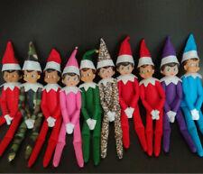 12 Inch Red Naughty Elf Elves Behavin' Badly Boy Girl Decorate The Book Shelf UK