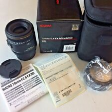 Sigma EX DG Macro Portrait 70mm F2.8 Lens For Sony Alpha A mount DSLR Mint Boxed