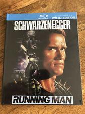 The Running Man [Bluray] Limited Edition Slim Mediabook, Schwarzenegger, neu,ovp