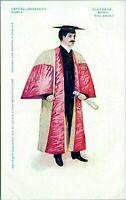 1902 Oxford University Professor Doctor of Music Vintage Postcard