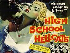 Pelicula Peli High School Hellcats Niñas Impresión Arte Fino tabú cartel BB6623B