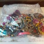 Broken Costume Jewellery Mixed Job Lot Bundle For Harvest Beads Repair 1kg
