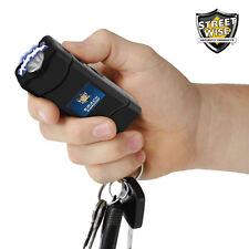 Streetwise SMACK 6 Million Volt Stun Gun / LED Flashlight w/ Key Ring - Black