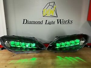 Custom Built Honda Civic Jewel Headlights! Tsx Tl Acura TSX Evo Si S2000 S2k