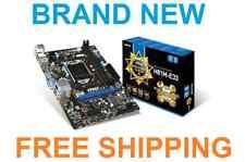 MSI H81M-E33 LGA1150 ATX Intel Motherboard (USB 3.0, SATA 6Gb/s, Click BIOS 4)