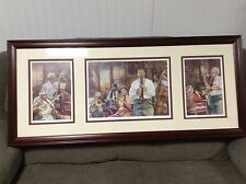 NEW PRICE!  Preservation Jazz Band Framed Triple Pictures