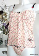Vive Maria Hemd + String S 36 littles Cherries Kirschen Top Panty Unterwäsche
