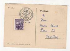 Ausstellung 300 Geburtstag Jak Prandtaufer 1960 Melk Austria Postmark 439b