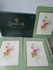 VINTAGE DONEGAL PARIAN CHINA 6 X PLACEMATS [IRELAND] BOXED, RARE.