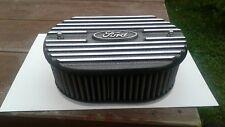 Ford escort ,capri,cortina  etc alloy k&n air filter top,speckled grey ,new