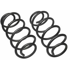 For Ford Mustang Convertible 6V 8V 05-10 Rear Constant Rate Coil Spring Set Moog