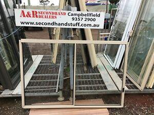 NEW Aluminium SLIDING WINDOWS 1200h x 1800w (Approx Size) 5 COLOURS