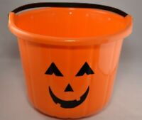 Jack-O-Lantern Trick-or-Treat Candy Bucket | Halloween Decorations | Halloween P