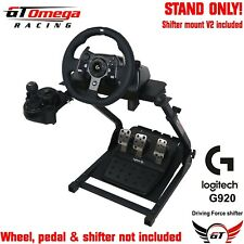 GT Omega Steering Wheel stand PRO For Logitech G920 Racing wheel & shifter V2