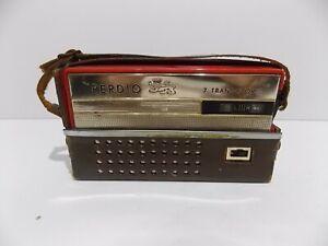 vintage Perdio 7 transistor radio Empire made