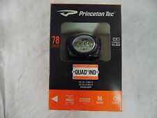 Princeton Tec Hands free Headlamp UL Listed Water Res. Resin 78 lumens #QUAD-IND