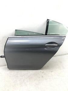 2013-2019 BMW 650I F06 LEFT REAR DOOR SHELL W/ SOFT CLOSE GREY METALLIC (A52)
