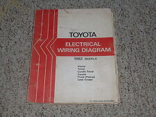 1982 toyota land cruiser fj40 fj60 bj42 bj60 electrical wiring diagram  manual 2f