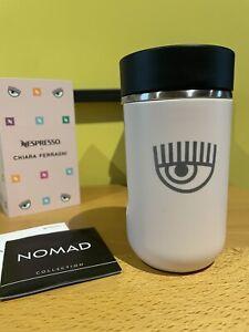 Chiara Ferragni Travel Mug Tazza Thermos Nuova Rara Sigillata Nespresso Limited