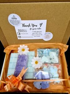 Spring Themed Highly Scented Soy Wax Melts Bundle. Snap Bars & Individual Melts