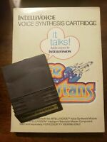 SPACE SPARTANS - INTELLIVOICE - MISSING MANUAL - FREE S/H - (B18A)