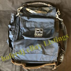 Porta Brace Bag Case with Hand and Padded Shoulder Leather Strap USED AS-IS