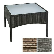 Polyrattan Beistelltisch Rattan Tisch Gartentisch Balkontisch Loungetisch Möbel