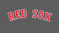 Boston Red Sox Jersey Logo Vinyl Decal