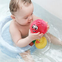 Kids Toddler Swimming Bathroom Party LED Light Baby Bath Toys Rotate Spray Water