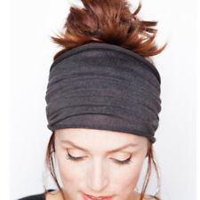 Soft Elastic Women Stretch Running Wide Hairband Yoga Headband Turban Wrap