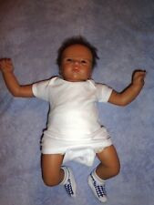 "ASTHON DRAKE BABY BOY VINYL SOFT DOLL BY SANDY FABER, 18"" SIZE"