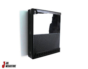 Xbox One Original Game Console Wall Mount Bracket Holder Vertical Black Steel